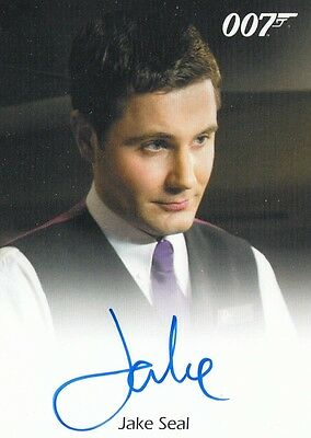 James Bond Archives 2016 Spectre Edition - Jake Seal Autograph Card Fb L