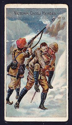 Taddy VICTORIA CROSS HEROES (1-20) 1901 #19 Chitral Campaign *Poor/Fair Cond*