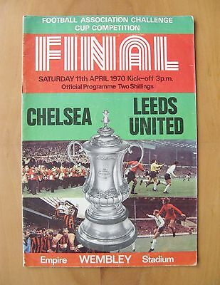 1970 FA Cup Final CHELSEA v LEEDS UNITED *VG Condition Football Programme*