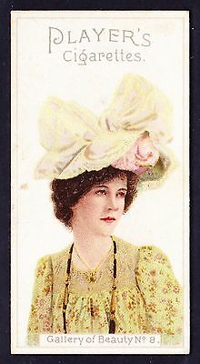 John Player GALLERY OF BEAUTY SERIES 1896 #8 *Good Condition*