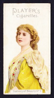John Player GALLERY OF BEAUTY SERIES 1896 #2 *Good Condition*