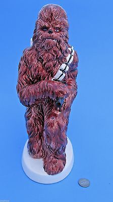 "CERAMIC BANK 1982 vintage CHEWBACCA Sigma - Star Wars - 10"" TALL! collectible"
