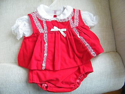 3 Piece Outfit for Newborn Baby Lee Middleton or Other Modern Doll 9 Inches Long