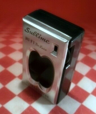 SUBLIME HI-FI DELUXE Transistor Radio - WORKS GREAT, GREAT LOOK