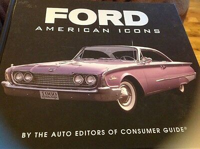 Ford American Icons Hardcover By Auto Editors of Consumer Guide 2015 Nice Gift