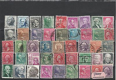 Usa older Postage stamps Los Right 4031