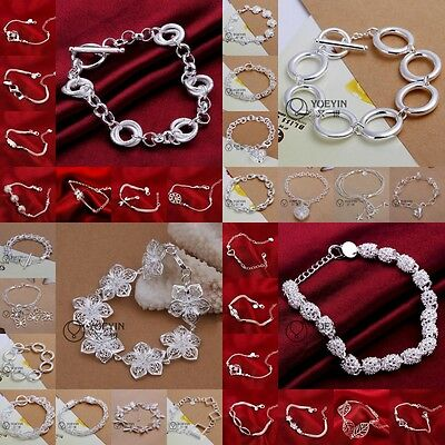 wholesale special price  silver jewellery bracelet/ bangle new+925box