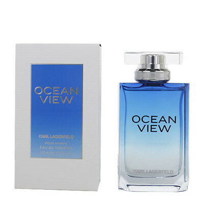 Ocean View Cologne by Karl Lagerfeld - 3.3 / 3.4 oz / 100 ml EDT Spray New In Bo