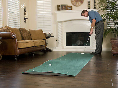 SKLZ Vari-Break Green Putting Mat with SKLZ  Putt Pocket