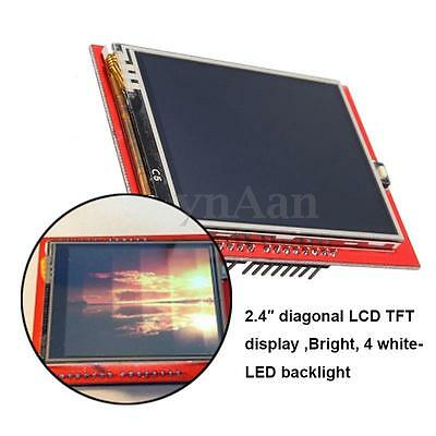 2.4 Inch Compatible TFT LCD Touch Screen Shield Module Board For Ardui UNO R3