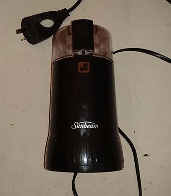 Sunbeam Electric Coffee/ Spice  Grinder - with pulse button