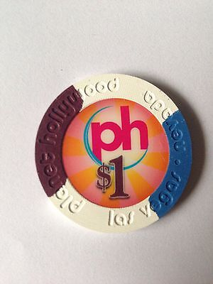 Real $1 Las Vegas Casino Chip - Planet Hollywood Poker Chip - Collectors Item