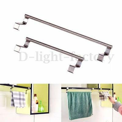 Kitchen Bar Hook Bathroom Over Door Tea Towel Holder Rack Rail Cupboard Hanger