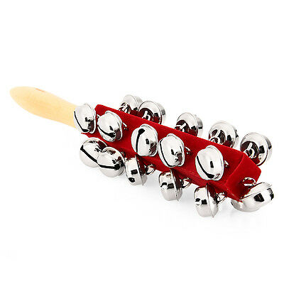 21PCS Bells Children Baby Carl Orff Musical Percussion Hand Shacke Rattles Toy