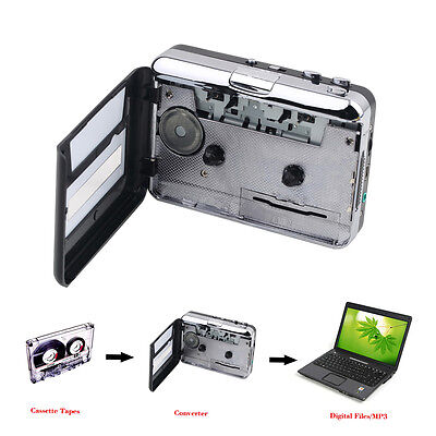 Tape to PC USB Cassette & MP3 CD Converter Capture Digital Audio Music Player BH