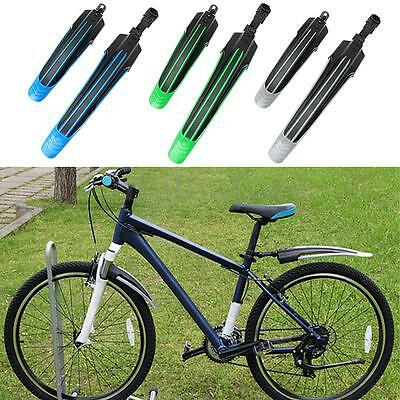 Bicycle Cycling Road Front Rear Mud Guard Mountain Bike Tire Mudguard Set