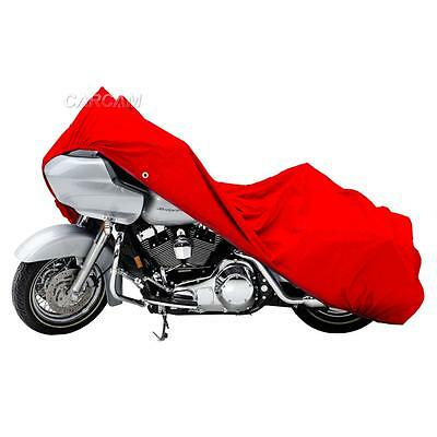Red Motorcycle Storage Cover For Harley Davidson Street Glide Trike FLHXXX