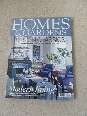 Homes and Gardens October 2016 B/N