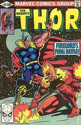 Thor (1962-1996 1st Series Journey Into Mystery) #306 FN