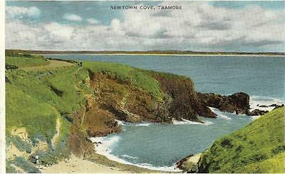 TRAMORE, Newtown Cove, Ireland old postcard.