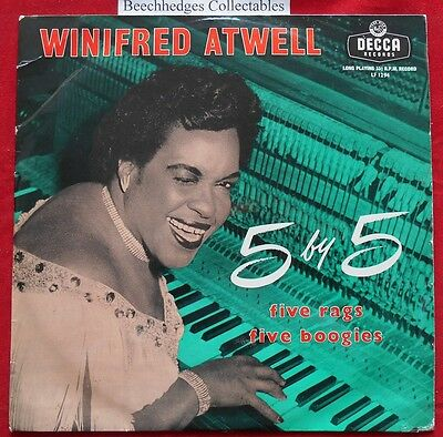 """Winifred Atwell And Her Other Piano 5 X 5 10"""" EP"""