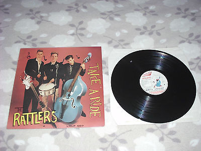 The RATTLERS  LP  TAKE A RIDE
