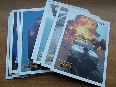 James Bond Archives Spectre Edition 2016 Parallel Gold Living Daylight cards X 5