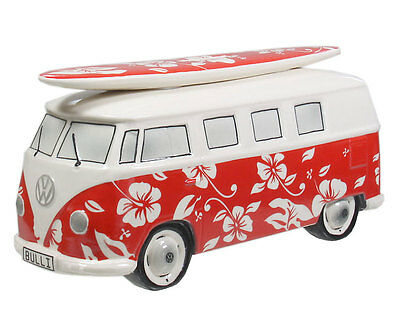 VAN ONE CLASSIC CARS VW SURF BULLI T1 HAWAII Spardose red