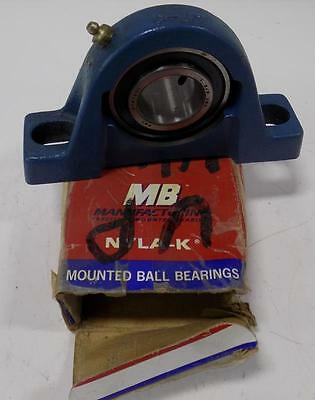 Mb Nyla-K Mouinted Ball Bearing C 25 1-3/8