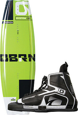 OBRIEN SYSTEM 135 2016 inkl. DEVICE Boots Wakeboard Set inkl. Bindung