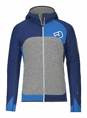 ORTOVOX FLEECE PLUS Hoodie 2017 strong blue Pullover