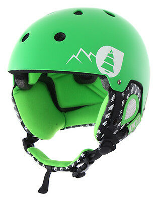 PICTURE SYMBOL Helm 2016 green Ski Snowboard