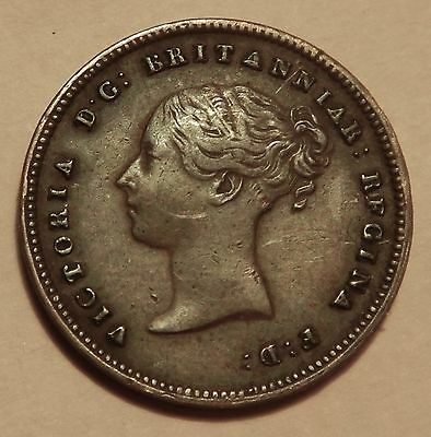 Half Farthing Victoria Young Head 1843