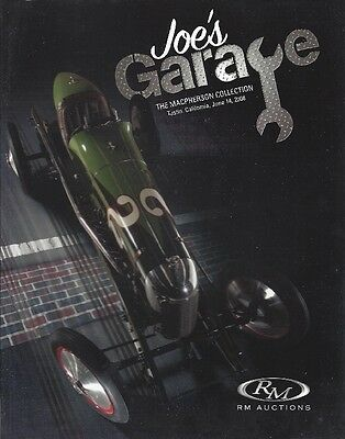 RM magazine-OLD CARS-Automobiles-Joe's Garage-June 14, 2008-192+ pages