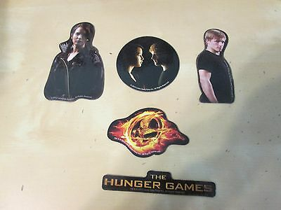 The Hunger Games Movie 5 Piece Magnet Set District Capitol