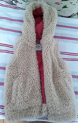 Mini Boden Faux Fur Gilet Aged 3-4