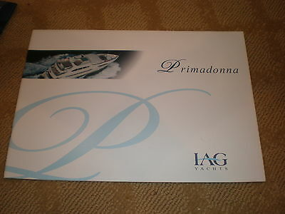 Iag Yachts Primadonna 127' 6 Stateroom Motor Yacht Color Marketing Brochure