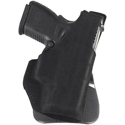 Galco PDL801B Paddle Lite Holster Black Leather LH for Glock 43