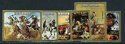 1968 Panama Paintings of Hunting Scenes  (MNH)