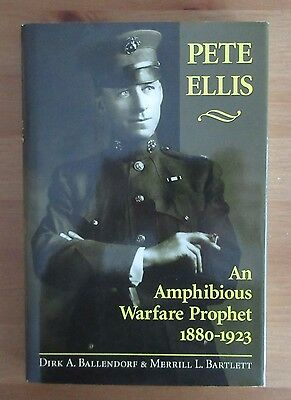 USMC BOOK PETE ELLIS BIOGRAPHY amphibious warfare ballendorf