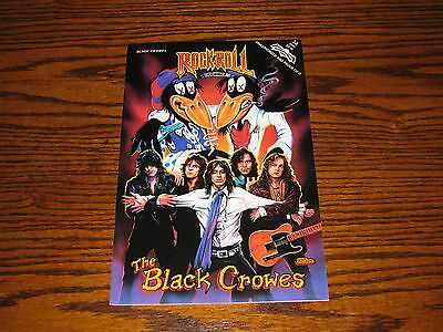 THE BLACK CROWES - Rock-N-Roll  Comic Book!!  RARE!!