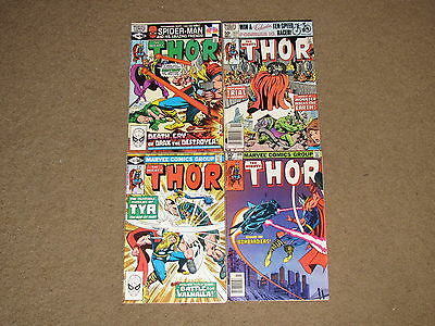 Marvel - MIGHTY THOR 309,312,313,314 Lot!!  VG/FN