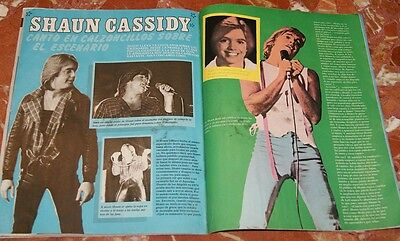 Shaun Cassidy Spanish Clippings 1980