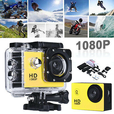 SJ5000 Full HD 1080P 12MP Cam 30M Waterproof Sports Action Camera DV DVR 2.0inch