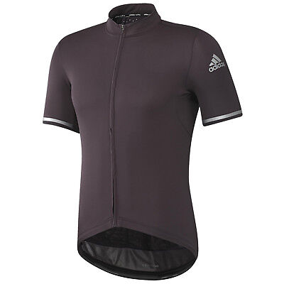 adidas Performance Mens Climachill Short Sleeve Cycling Cycle Jersey Top