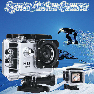 Waterproof Helmet Sports Action Camera Camcorder HD 1080P Sports Recorder Xmas
