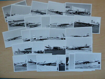 US Air Force, 26 black & white photographs of Martin B57 (Canberra) aircraft