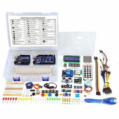 Arduino Full Starter kit for DIY School Projects UNO R3 Board Mega2560 37 Items