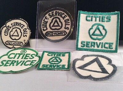 Cities Service Patches