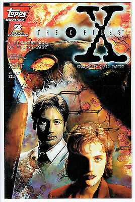 THE X FILES ISSUE NUMBER 2 PRODUCED BY TOPPS nm